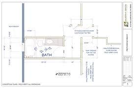 Bathroom Floor Plan by Universal Design Aging In Place Bathroom In Mpls Murphy Bros