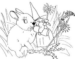 david gnome wife give milk baby rabbit coloring pages