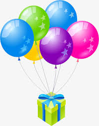 balloons gift gift boxes and balloons gift pattern theme poster creative gift