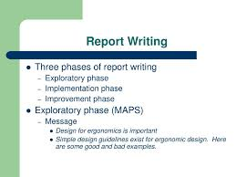 Writing Maps Ppt Report Writing Powerpoint Presentation Id 402433