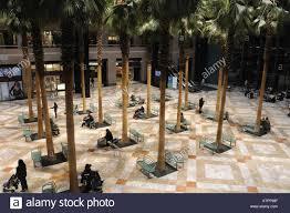the winter garden of the world financial center in battery park