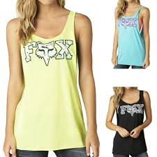 fox motocross clothing 2015 fox racing womens summer image casual sleeveless tank top