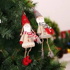 christmas tree decorations cute clothes christmas pendant ornament