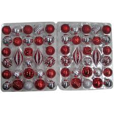 time traditional shatterproof ornaments set of