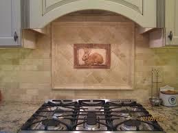 kitchen backsplash accent tile kitchen kitchen tiled backsplash with handcrafted rabbit tile as
