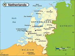 netherlands map images destination the netherlands travel the