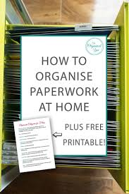 how to organize a file cabinet system how to organise paperwork at home blog home organisation the