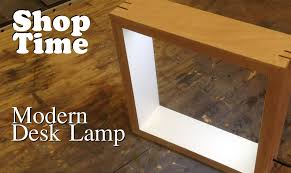 Diy Led Desk Lamp by Modern Picture Frame Desk Lamp Youtube