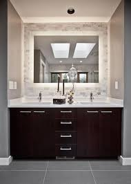 Framed Bathroom Mirrors Ideas Vanity Mirrors Within Bathroom Mirror Design And Ideas