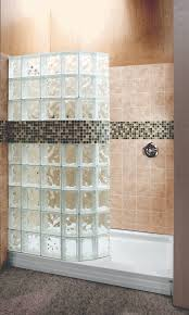 glass block bathroom ideas bathroom inspiring image of bathroom decoration using black