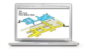 map of penn station penn station atlas project hopes to hated station less