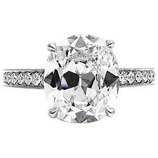 platinum pave rings images Gia certified 3 15 cushion cut diamond platinum pave engagement jpg