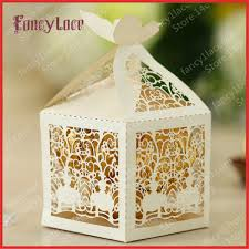 sweet boxes for indian weddings aliexpress buy 50pcs diy creative laser cutting indian