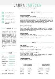Resume Templates Pages Creative Cv Template Fully Editable In Word And Powerpoint