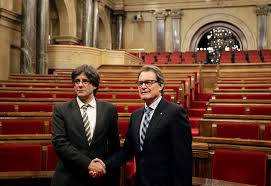 catalan parliament officially calls referendum on secession