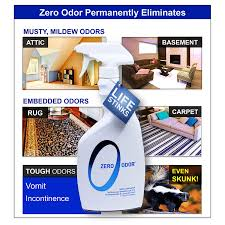 amazon com zero odor multi purpose household odor eliminator
