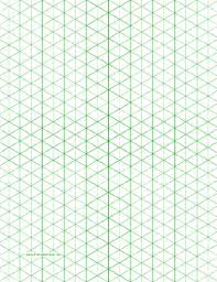 printable isometric paper a4 this letter sized isometric graph paper has half inch figures