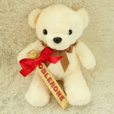 teddy delivery teddy and toblerone gift set flower delivery south korea