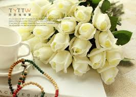 flowers in bulk free shipping 50pcs lot artificial flower real touch