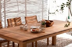 teak patio dining table contemporary teak outdoor furniture outdoor goods