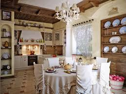 spanish style kitchen designs with dinning table set and unique
