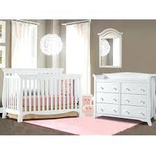 Convertible Crib And Dresser Set White Nursery Furniture Sets 3 Nursery Set In White