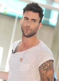 adam levine with cool tattoos hairstyles weekly