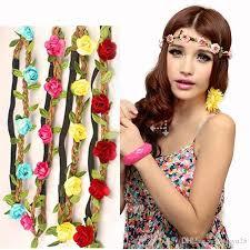 bohemian hair accessories bridal wreath hair band hair ornaments bohemian hair band national