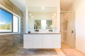 Floating Bathroom Vanity by Floating Bathroom Vanity Bathroom Contemporary With Accent Light