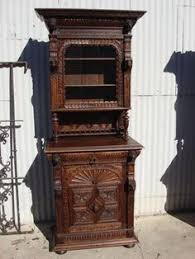 Antique Liquor Cabinet European Wood Hutch Circa 1900 Antique Furniture Pinterest