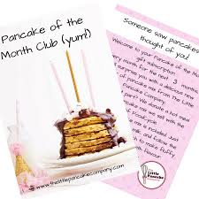 food of the month club three month pancake of the month subscription food gift by the