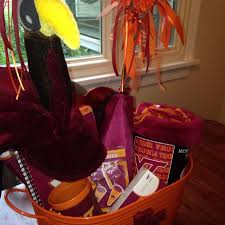 virginia gift baskets find more virginia tech gift basket great gift for a vt college