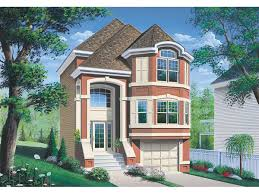 homes for narrow lots narrow lot house plans with drive garage homes zone