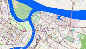 Local Map City Maps Belgrade