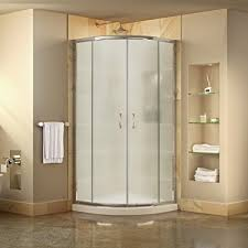 38 Shower Door Dreamline Prime 38 In D X 38 In W Kit With Corner Sliding