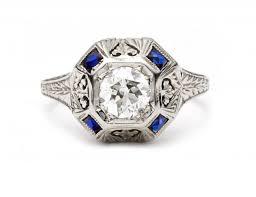 dale fournier antique engagement rings