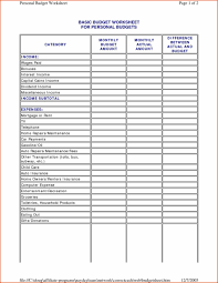 Budget Excel Template Example Budget Spreadsheet Templatez234