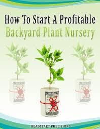 how to start a profitable backyard plant nursery profitable plants
