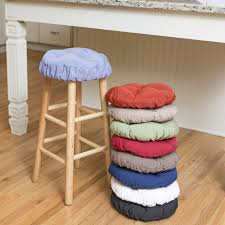Tie On Chair Cushions Bar Stools Bar Stool Seat Covers Round Cushions Pads Stools