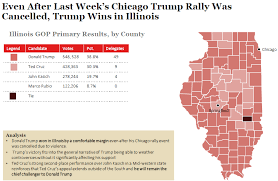chicago voting map illinois gop primary results and voting map