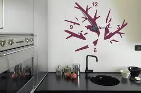 montre de cuisine les horloges murales décoratives objets decoration