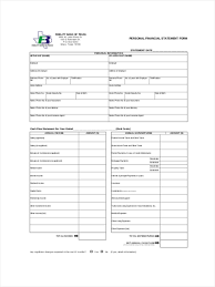 Sample Financial Report 23 Sample Financial Statement Form