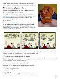 employee handbook template uploaded by khair tsabit employee