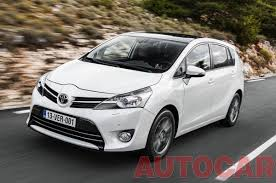 mpv toyota toyota verso 7 seater mpv good prospect for india indian cars