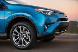 large toyota suv 2017 toyota rav4 hybrid overview cars com