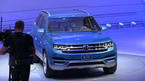 volkswagen suv 2016 detroit vw ceo confirms midsize suv in united states for 2016