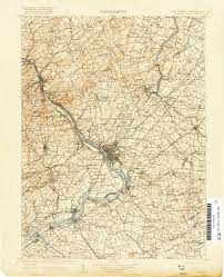 New Jersey On A Map Of The Usa by