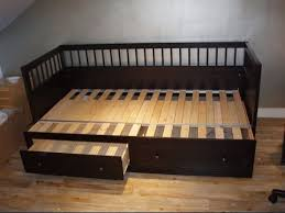 Wood Day Bed Wooden Daybed With Pop Up Trundle Youtube