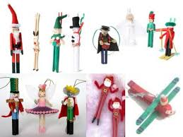 clothes pin ornaments i made the reindeer in elementary