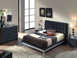 Black Contemporary Bedroom Furniture The Black Furniture Goes Well With The Gold If I Felt Like